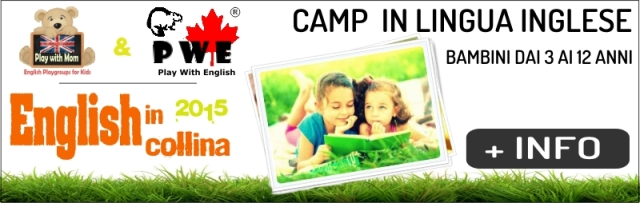 BANNER ENGLISH IN COLLINA