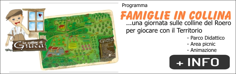 BANNER FAMIGLIE IN COLLINA