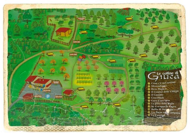 cartina vecchia