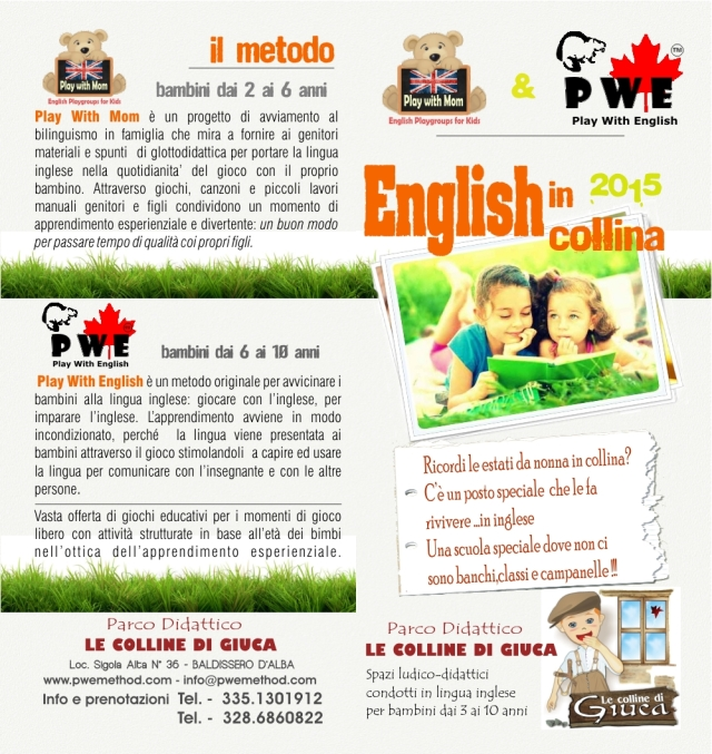 ENGLISH IN COLLINA ESTERNO