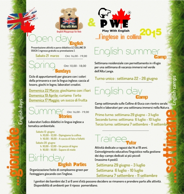 ENGLISH IN COLLINA INTERNO